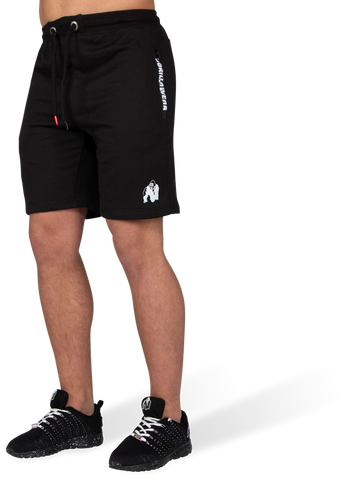 Gorilla Wear Pittsburgh Sweatshorts - Black - gymstop