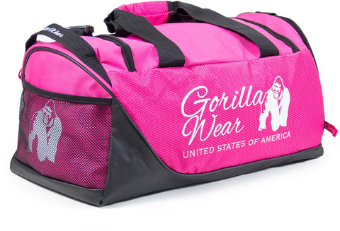 Gorilla Wear Santa Rosa Gym Bag - Pink/Black - gymstop