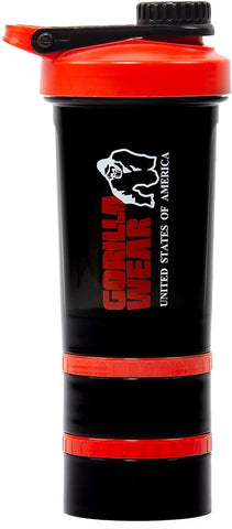 Gorilla Wear Shaker 2 GO - Black/Red - gymstop