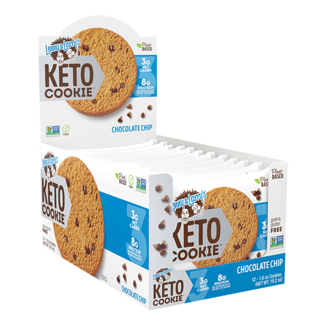 Lenny & Larry's KETO Cookies 12 x 45g - gymstop