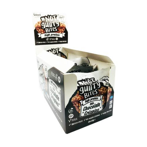 The Skinny Food Co Not Guilty Bites 10 x 23g - gymstop
