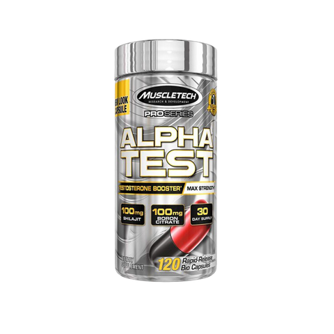 MuscleTech Alpha Test 120 caps - gymstop
