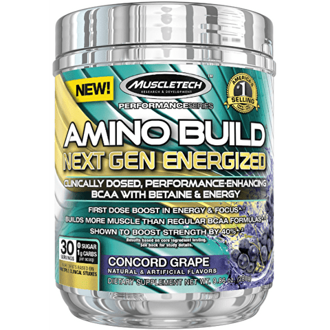 MuscleTech Amino Build Next Gen Energized - gymstop