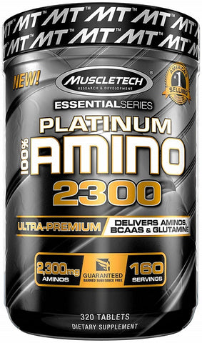 MuscleTech Platinum 100% Amino 2300 320 tablets - gymstop