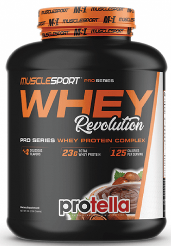 Musclesport Whey Revolution 2.27kg - gymstop