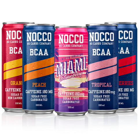 NOCCO BCAA 24 x 330ml - gymstop