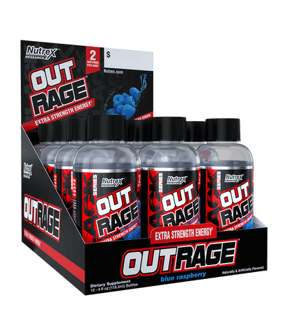 Nutrex Out Rage Shots - 12 x 118 ml - gymstop