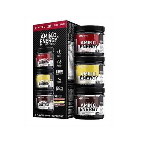 Optimum Nutrition AmiNO Energy 3 x 90g