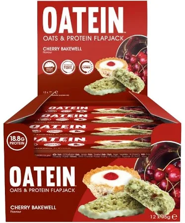 Oatein Oats & Protein Flapjack - 12 bars - gymstop