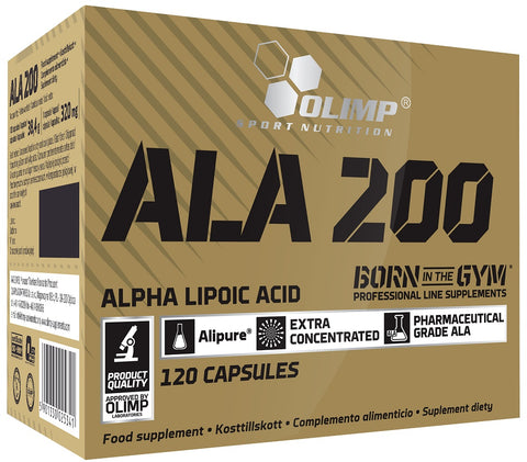Olimp Nutrition Ala 200 120 Caps - gymstop