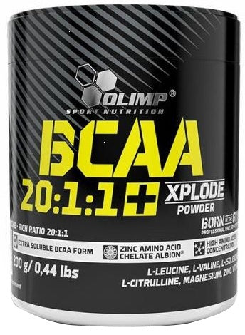 Olimp Nutrition BCAA 20:1:1 Xplode 200g - gymstop