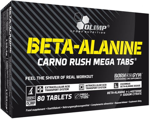 Olimp Nutrition Beta Alanine Carno Rush 80 Caps - gymstop