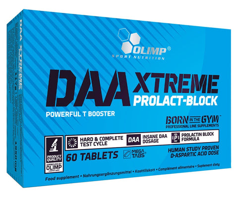 Olimp Nutrition DAA Xtreme Prolact-Block 60 Caps - gymstop