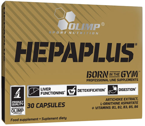 Olimp Nutrition Hepaplus  30 caps - gymstop