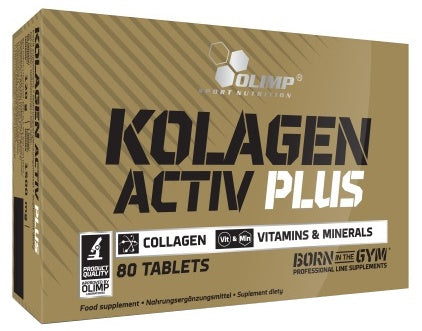 Olimp Nutrition Kolagen Activ Plus  80 tablets - gymstop
