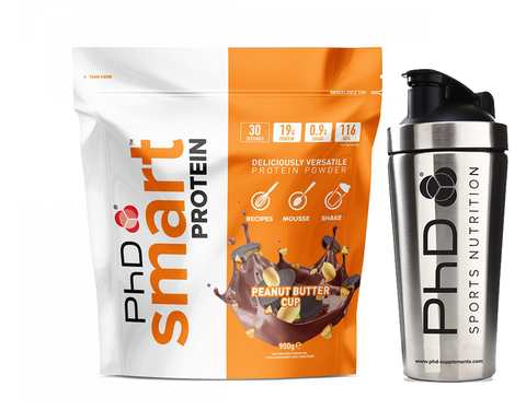 PhD Nutrition Smart Protein 900g + Free Stainless Shaker