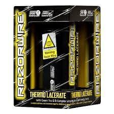 Razorwire Thermo Lacerate Informed Sports Capsules - gymstop