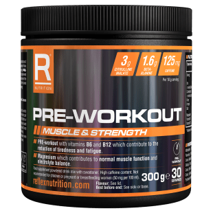 Reflex Nutrition Pre-Workout - Short Dated - gymstop