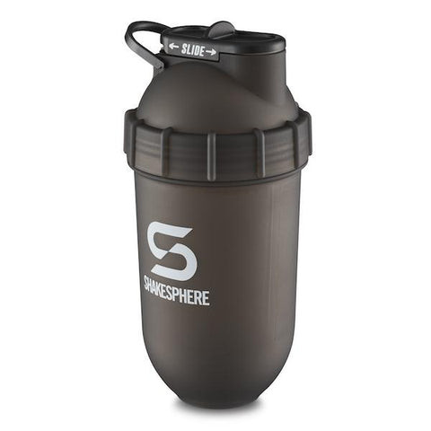 ShakeSphere Tumbler Original Frosted Black/White Logo 700ml
