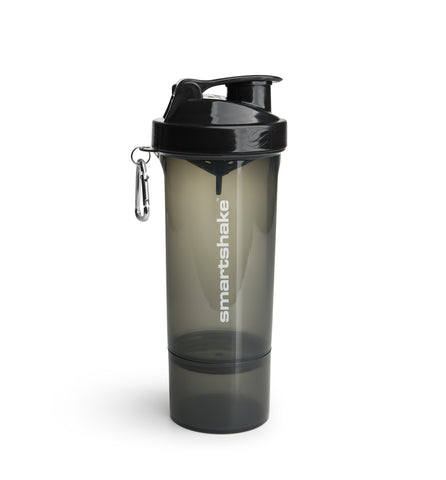 SmartShake Slim Black 500ml - gymstop