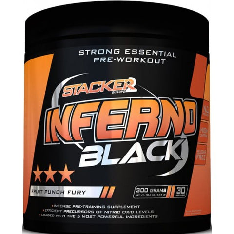 Stacker2 Europe Inferno Black 300g - gymstop