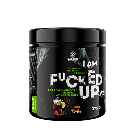Swedish Supplements I Am Fucked Up Pump 375g - gymstop