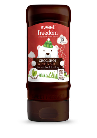 Sweet Freedom Winter Spice Choc Syrup 350g