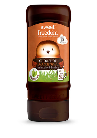 Sweet Freedom Orange Spice Syrup Fruit Sweetened 350g