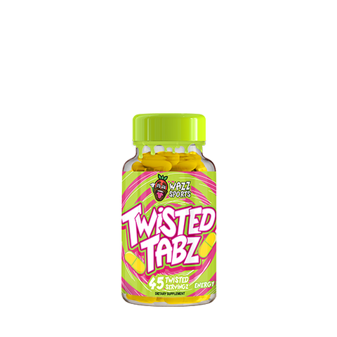 Wazz Sports Twisted Tabz 45 Caps - gymstop