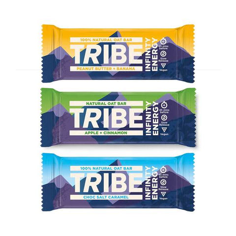 Tribe Infinity Energy Protein Bar 16 x 47g - Out of Date