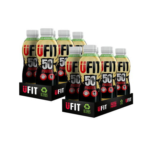 UFIT 50g Protein Shake 12 x 500ml for £25