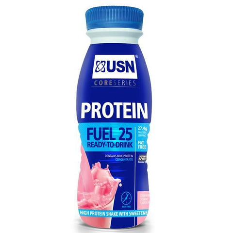 USN Pure Protein Fuel RTD 25g 330ml x 8