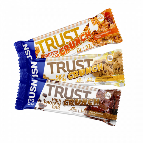 USN TRUST Crunch Bars 12 x 60g - gymstop
