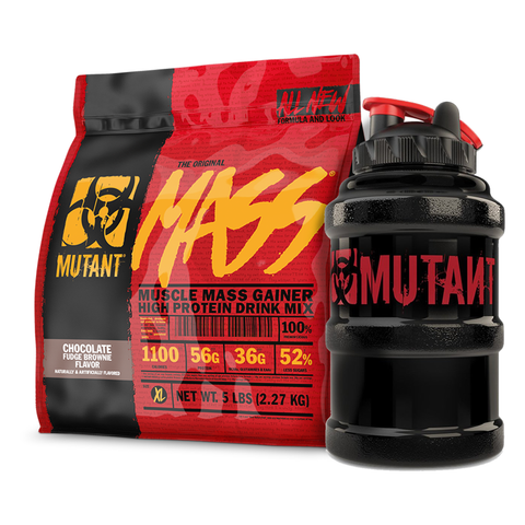 Mutant Mass 2.2kg with FREE 2.2L Jug