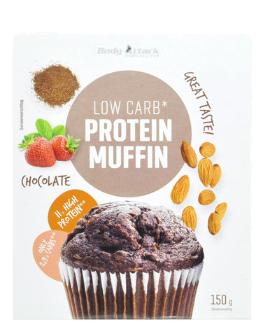 Body Attack Low Carb Protein Muffin Mix 150g - gymstop