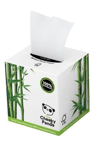 The Cheeky Panda Sustainable Bamboo Facial Tissues Cube