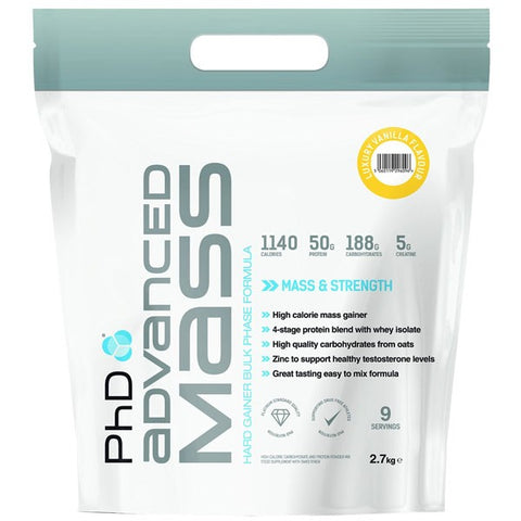 PhD Nutrition Advanced Mass 2.7kg - gymstop