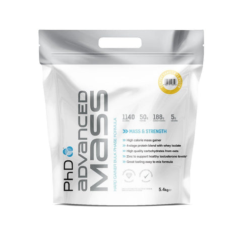 PhD Nutrition Advanced Mass 5.4kg - gymstop