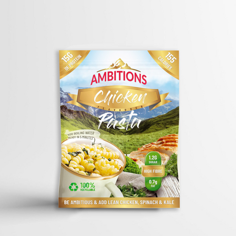 Ambitions Snacks Protein Pasta 1 x 46g