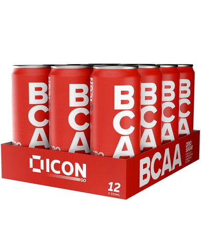ICON Nutrition BCAA Zero 12 x 330ml - gymstop