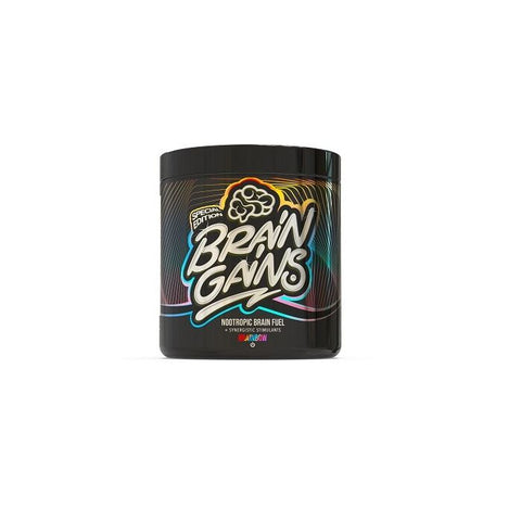 Brain Gains Nootropic Brain Fuel 260g - Black Edition