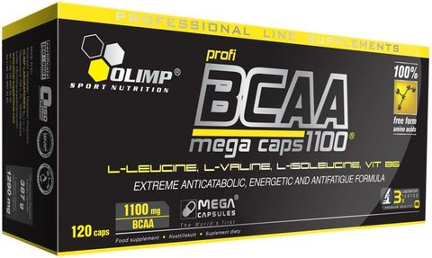 Olimp Nutrition BCAA Mega Caps - gymstop