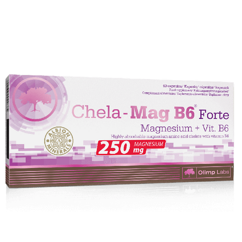 Olimp Nutrition Chela-Mag B6 Forte 60 Caps - gymstop