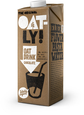 Oatly Chocolate Oat Drink 1L - gymstop