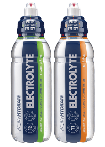 Wow Hydrate Electrolyte Water 12 x 500ml