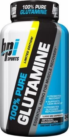 BPI Sports 100% Pure L-Glutamine - gymstop