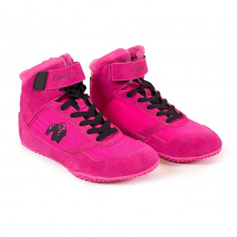 Gorilla Wear High Tops - Pink - gymstop