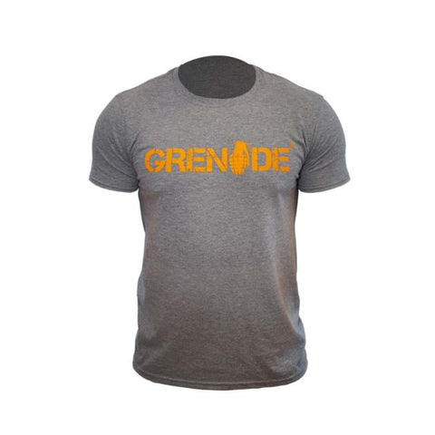 Grenade Grey T-Shirt - gymstop