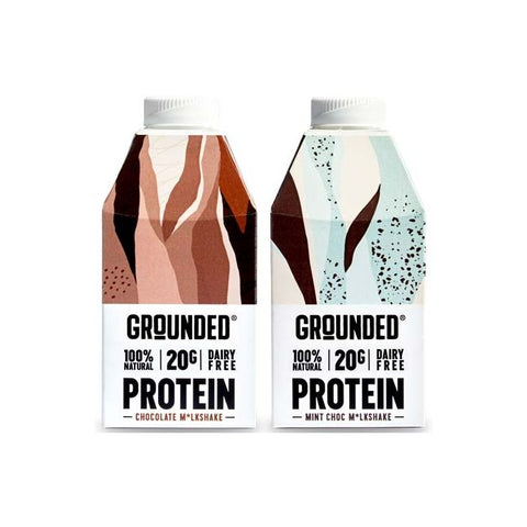 Grounded Protein M*lkshake 10 x 490ml