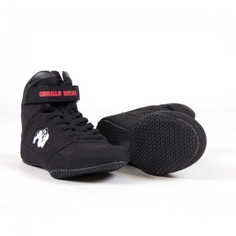 Gorilla Wear High Tops - Black - gymstop